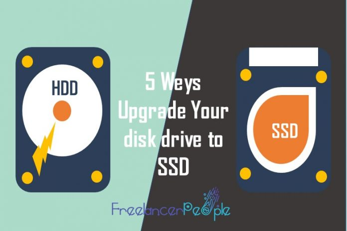 disk drive to SSD